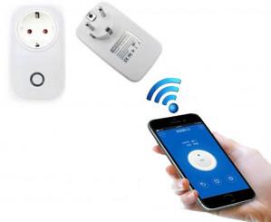Sonoff S20 Smart Wifi 2.4Ghz Schakelaar Stopcontact 2 stuks voor voor €14,11 dmv code