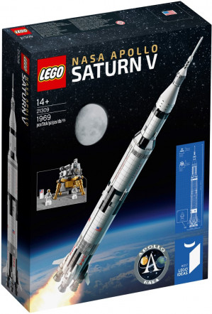 LEGO Ideas NASA Apollo Saturn V - 21309 voor €110,49