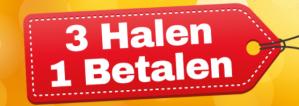 Diverse producten 3 halen =1 betalen bij Holland & Barret