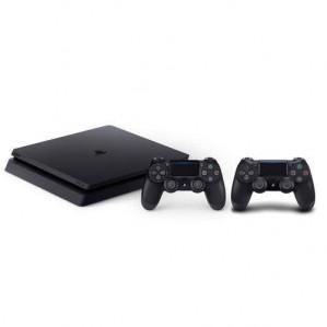 Slim 1TB + 2 DualShock 4 controllers v2 voor €329