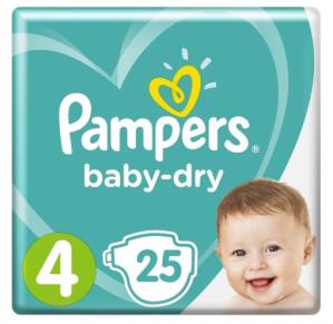 4 Pakken Pampers voor €25