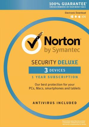 Norton Security Deluxe - 1 User 3 Devices voor €11,49