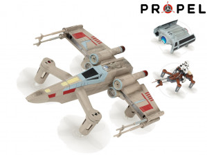 Propel Star Wars Collector's Edition High Performance T-65 X-Wing Fighter Battling Quadcopter voor €49,95