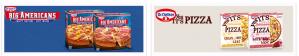 Gratis Dr. Oetker Big Americans pizza's dmv cashbacks
