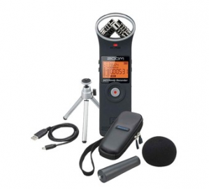 Zoom H1 Zwart audio recorder met accessoireset voor €77