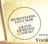 Kortingscode Its-beautiful voor een gratis armband bij besteding van €50