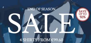 4 Charles Tyrwhitt overhemden voor €99,60