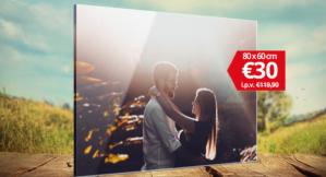 XXL Foto op Plexiglas voor €30