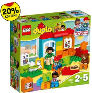 Alle Lego + Duplo 20% extra korting
