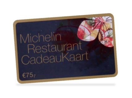 Goede Gratis Luxury Michelin restaurant cadeaukaart t.w.v. € 75 ZO-77