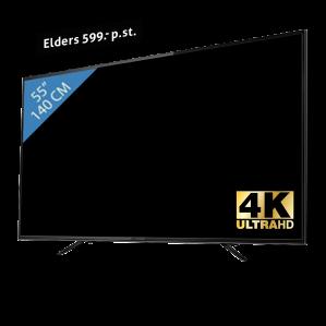 Denver UltraHD 4K LED TV 55 inch voor €387 ( ex €5,95 verzendkosten )