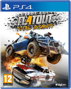 Flatout 4 Total Insanity - PS4 voor €17,99