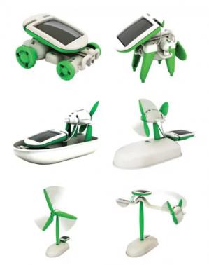 Speelgoedrobot Solar 6 in 1 voor €2,10 dmv code