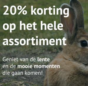20% korting op alles bij Fotoboeken.nl