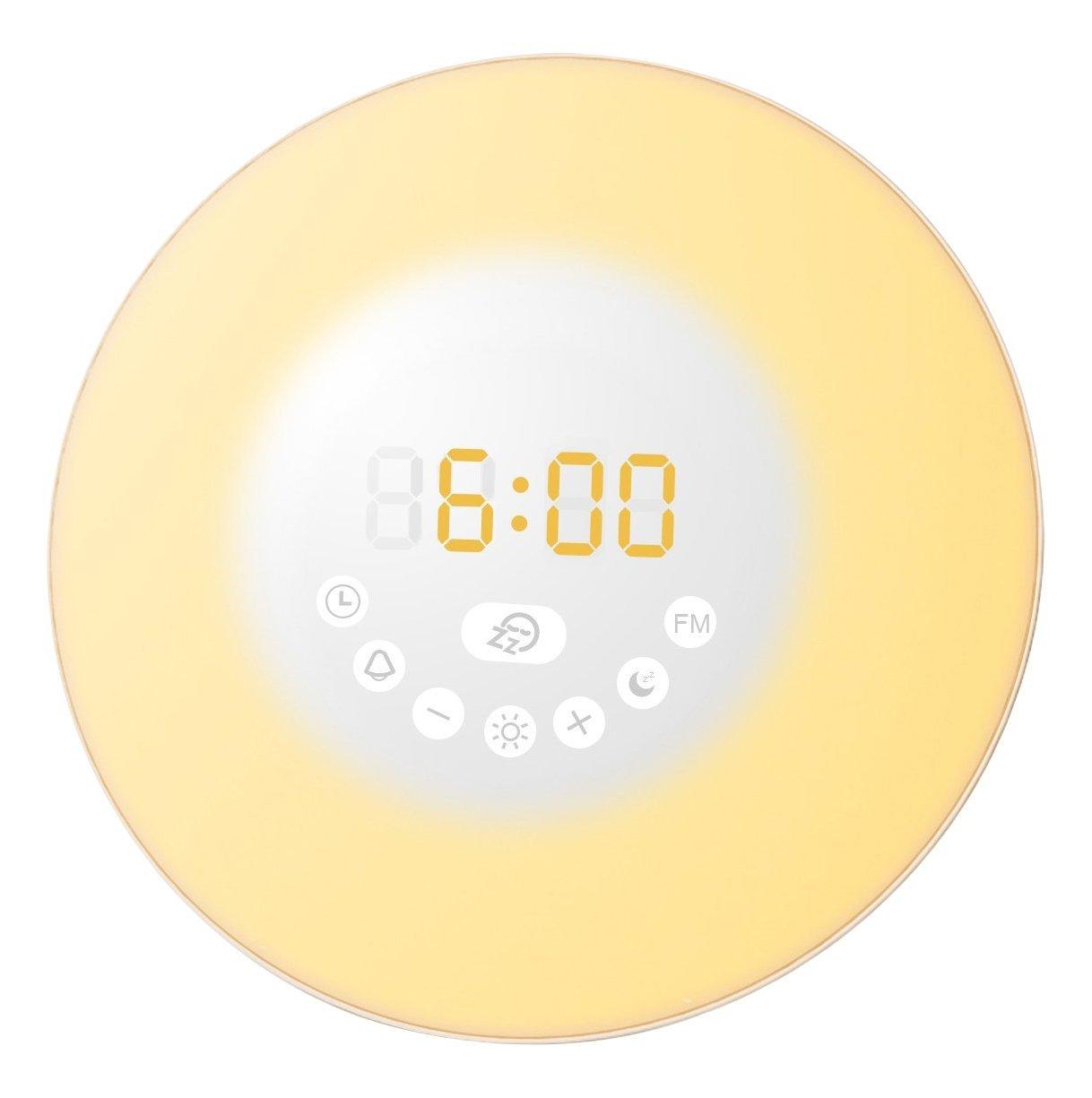 Oria Wake-up light met radio voor €12,99