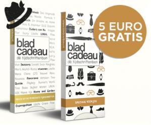 €5 korting op Bladcadeau Vaderdag