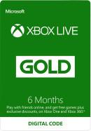 6 maanden Xbox Live Gold Membership (Digital Code)  voor €14,55