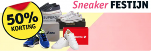 Diverse sneakers 50% korting