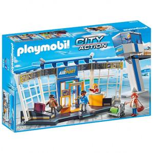Playmobil - luchthaven met verkeerstoren - 5338 voor €24