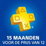 PlayStation Plus abonnement 15 maanden voor €59,99
