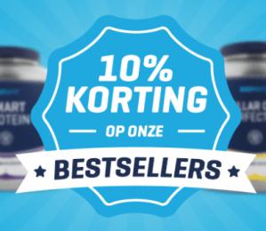10% korting op de bestsellers