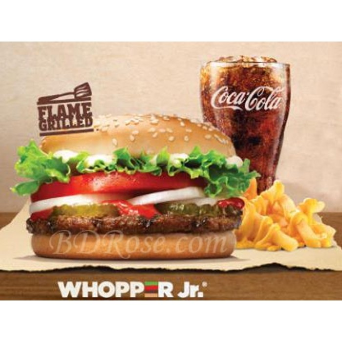 2e Whopper Meal gratis