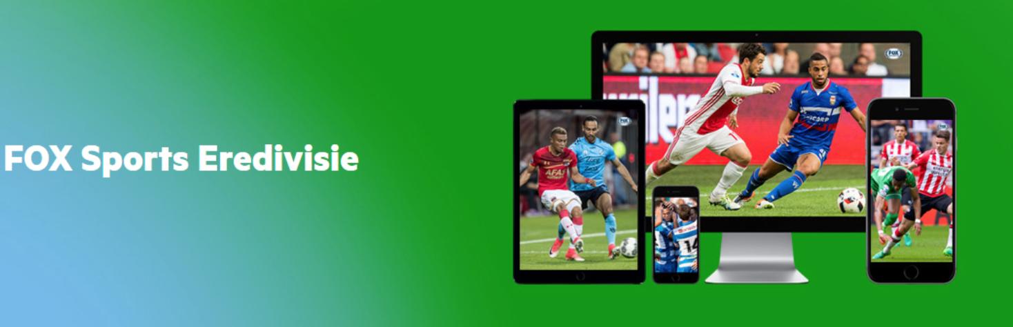 1 maand FOX Sports GO Eredivisie Gratis (KPN klant)