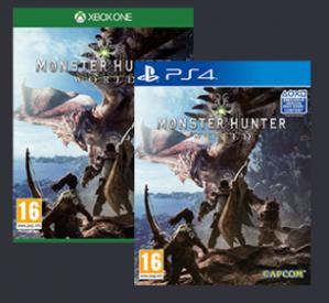 Inruilactie Dragonball FighterZ & Monster Hunter World vanaf €29,98
