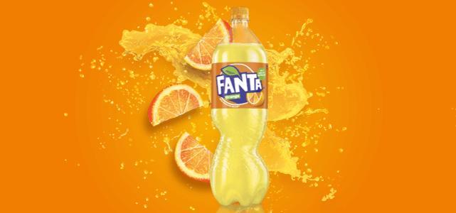 Probeer Fanta orange 1,5 l Gratis dmv cashback