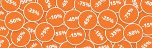 Tot 75% korting in de sale