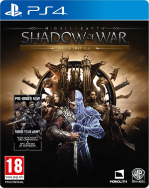 Middle-Earth: Shadow Of War - Gold Edition - PS4 voor €39,99