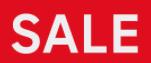 Tot 85% korting + €10 extra korting op de sale dmv code