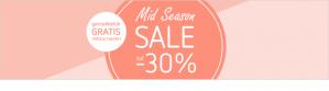 Kleertjes.com sale tot 30% korting