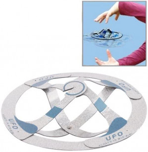 Magic Trick Toy - Floats in Mid-air UFO Flying Saucer voor €0,30 dmv code