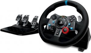 Logitech G29 Driving Force Racestuur - PS4 + PS3 + PC voor €215,99