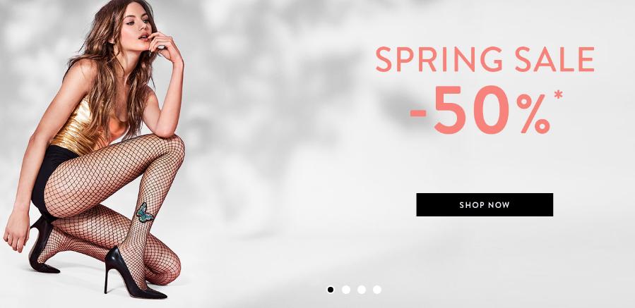 -50% korting (spring sale)