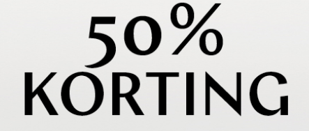 Steps sale met 50% korting op het 2de artikel  van de nieuwe collectie