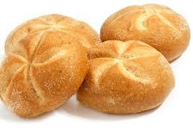 Kaiserbroodjes 6 Stuks naturel, sesam en maanzaad voor €1