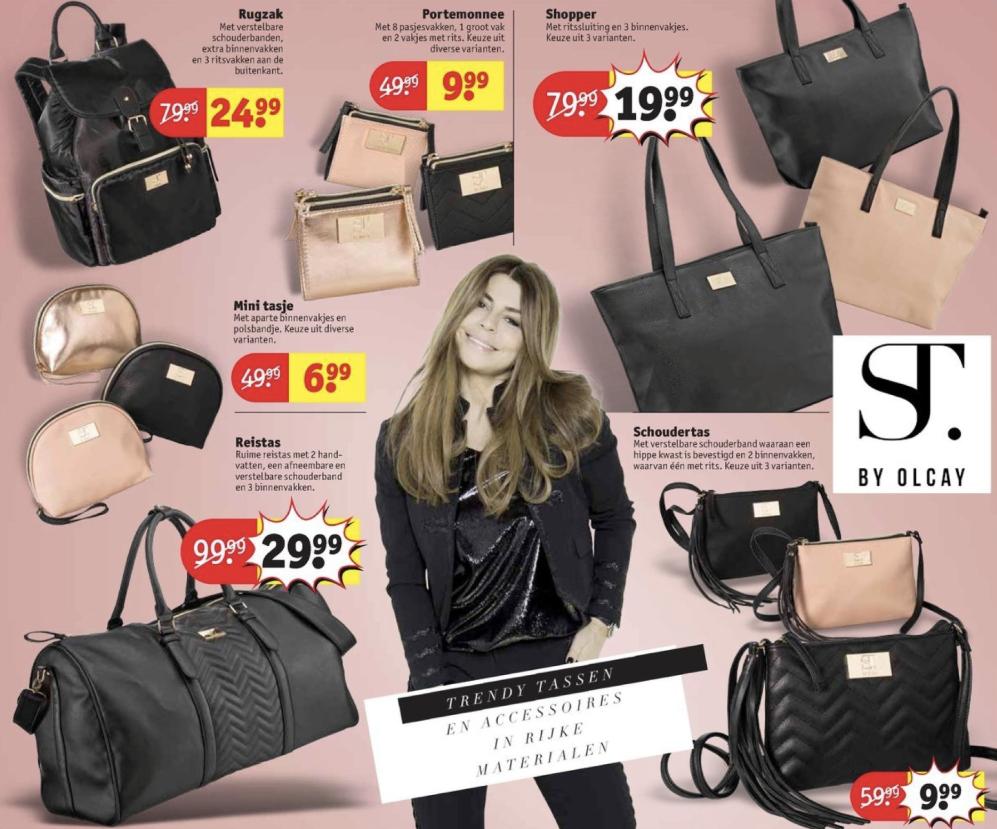 Supertrash producten zoals portomonees, tassen en rugzakken vanaf €6,99