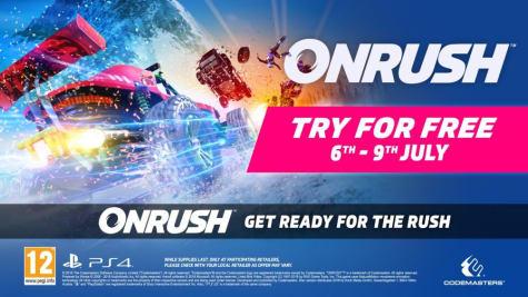 Speel Onrush dit weekend Gratis