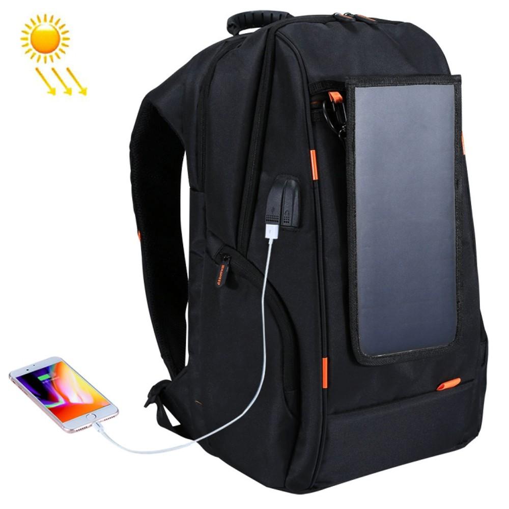 Outdoor Waterproof Charging Backpack + USB Port met Solar voor €28,98 dmv code