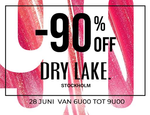 Tot 90% korting op het merk Dry Lake