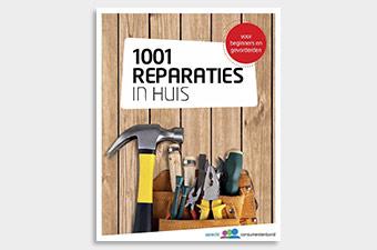 '1001 Reparaties in huis' Gratis e-book: