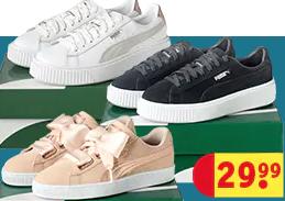 Puma sneakers voor €29,99