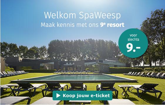 Dagje wellness bij SpaWeesp voor €9