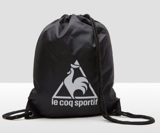 Le Coq sportif gymtas zwart voor €0,99
