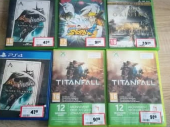 Leegverkoop games bij Intertoys