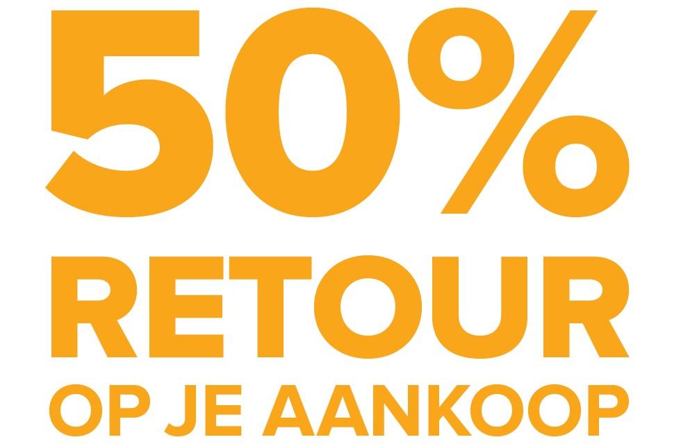 50% retour op alle Histor Clean producten incl de sale