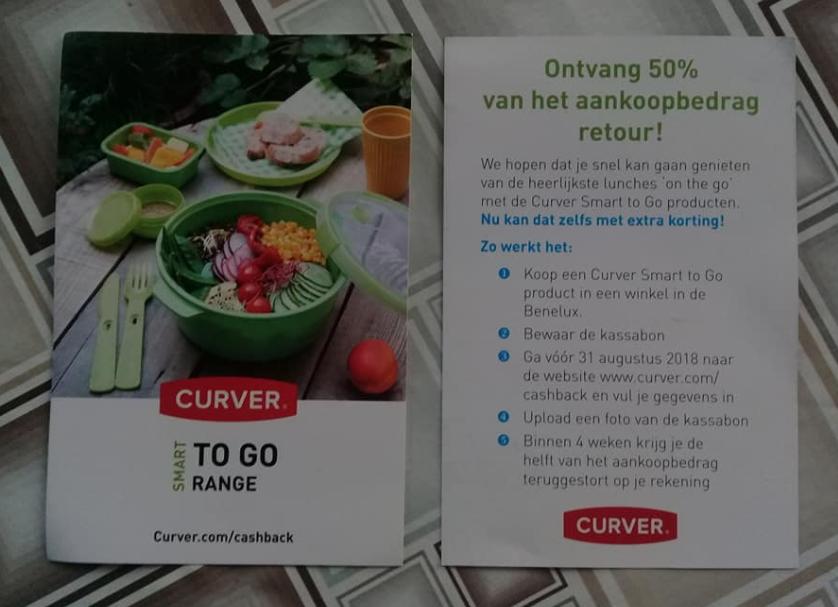 50% korting op een Curver Smart to Go