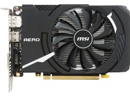 MSI GeForce GTX 1050 Ti AERO ITX 4G OCV1 voor €170,01